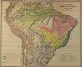 Martius, 1858. Tabula geographica brasiliae. Provinciae florae brasiliensis.jpg