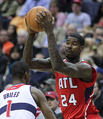 Marvin Williams - Williams with the Hawks in March 2012