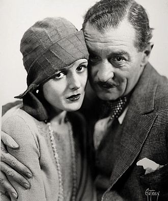 Dry Martini (1928 film) - Mary Astor and Albert Conti in the film