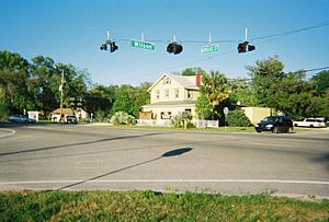 U.S. Route 41 in Florida - 2009 Photo of US 41 and Wilson Boulevard in Masaryktown.