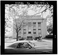 Massachusetts Ave. (east) elevation - Gary Municipal Building, 401 Broadway, Gary, Lake County, IN HABS IND,45-GRAY,1-3.tif