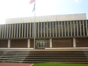 Matagorda County, Texas, Courthouse IMG 1033.JPG