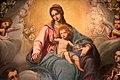 Matteo rosselli, madonna del rosario coi ss. domenico, caterina d'a., antonio da pd. e agata, 1620-30 ca. 03.jpg