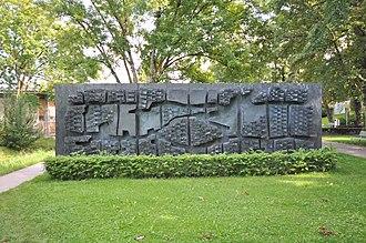 Zoltán Kemény - Mauer Nr. 3 von Zoltan Kemeny, 1963-1965