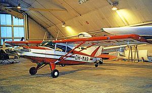 Rovaniemi Airport - General Aviation hangar interior