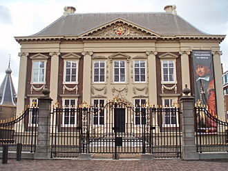 Maurits Post - The Mauritshuis museum is named after its first owner, Prince Maurits, who hired Pieter Post to design his house. In 1668 Maurits (who was probably named after him) designed a garden for this house.