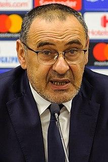 Maurizio Sarri Italian football manager