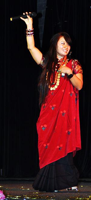 Mausami Gurung - Mausami Gurung performing in Sydney 2011 at Losar, organized by Tamu Samaj