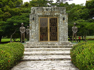 Omar Torrijos - Omar Torrijos Mausoleum in Amador, Panama City, in the former Canal Zone.