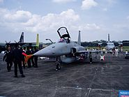 Maverick armed RSAF F-5S