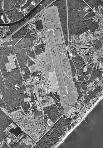 Myrtle Beach International Airport - USGS 1994 orthophoto