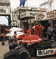 McLaren pit 1986 Britain.jpg