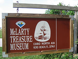 McLarty Treasure Museum - Image: Mc Larty Treasure Museum Sign