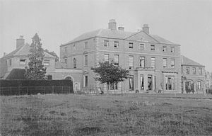 Measham - Measham Hall: Built 1767, demolished 1959 due to mining subsidence