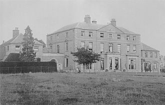 Measham - Measham Hall: Built 1767, demolished 1959 due to mining subsidence