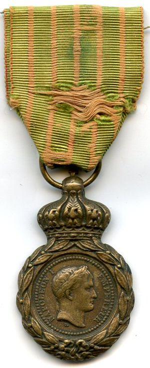 Saint Helena Medal - Image: Medaille de ste helene FRANCE