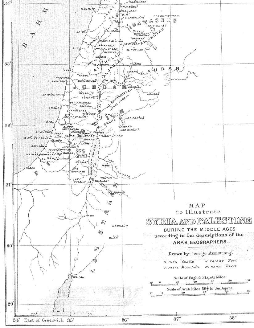 Medieval Arab Palestine