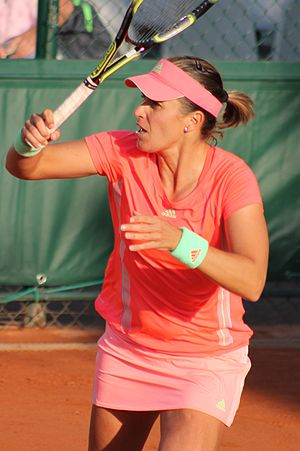 Anabel Medina Garrigues - Medina Garrigues at the 2015 French Open