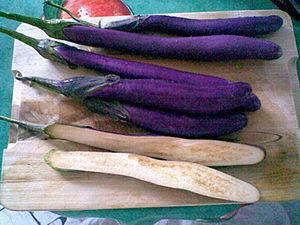 Italian Eggplants; Melanzane italiane; Italien...