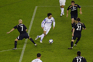 Gamba Osaka - Gamba Osaka playing against the Melbourne Victory in the 2008 AFC Champions League