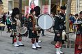 Memorial Day parade forms on Champs-Elysees 2, Paris 25 May 2014.jpg