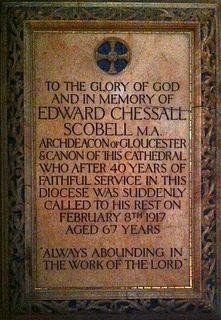 Edward Scobell (priest) British Archdeacon