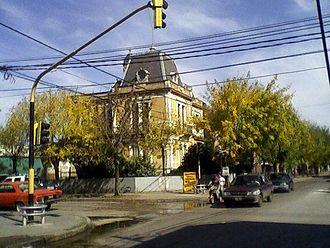 Parque San Martín, Buenos Aires - Colegio Nuestra Señora de la Gruta, private Catholic school.