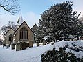 Merstham Church from the east. - geograph.org.uk - 1653548.jpg