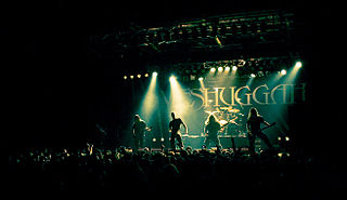 Meshuggah Swedish heavy metal band