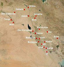 senovės mezopotamijos prekybos sistema)