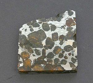 Brahin (meteorite) - A small Brahin slice