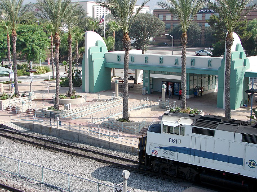 Metrolink Train Station