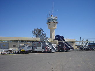 Mexicali International Airport - Image: Mexicali Airport Control Tower