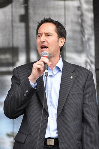 Michael Applebaum - Image: Michael Applebaum Montreal Mayor 2009