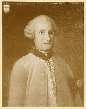Canadian peers and baronets - The Marquis de Lotbinière was the first native Canadian to be elevated to a Marquisate in the Peerage of France. He was the uncle of the Vicomte de Léry; a first cousin of the Marquis de Fresnoy; and his father was a first cousin of the Marquis de Vaudreuil-Cavagnal