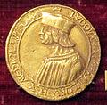 Michel colombe, medaglia di luigi xii di francia, oro (1498-1515).JPG