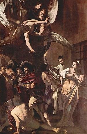 1607 in art - Image: Michelangelo Caravaggio 029