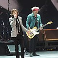 Mick Jagger Keith Richards Rolling Stones 2012-12-13.jpg