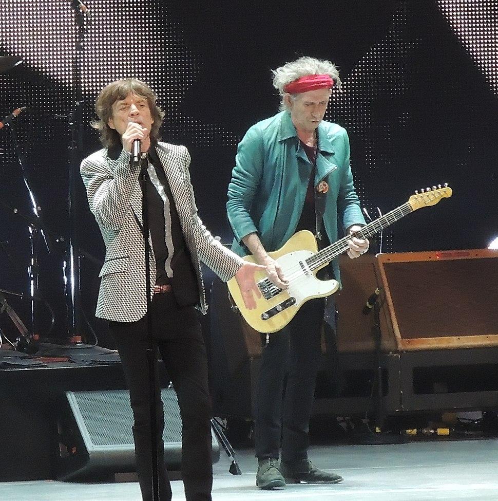Mick Jagger Keith Richards Rolling Stones 2012-12-13.jpg