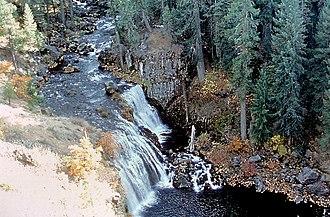 McCloud River - Middle McCloud Falls on the McCloud River