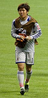 Miho Fukumoto Japanese footballer
