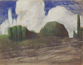 1904 in art - Image: Mikalojus Konstantinas Ciurlionis DAY 1904 5, Varsuva