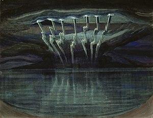 Mikalojus Konstantinas Čiurlionis - Lightning (1909)