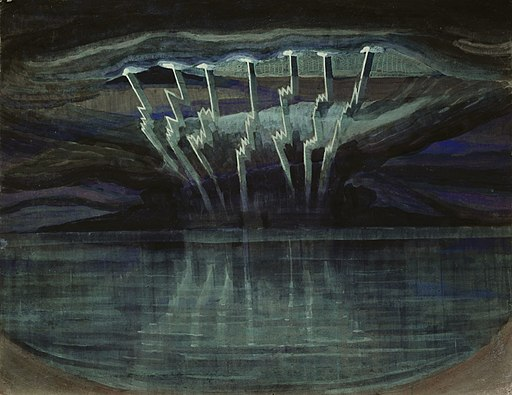 Mikalojus Konstantinas Ciurlionis - LIGHTNING - 1909