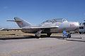 Mikoyan-Gurevich MiG-15UTI Midget RSide TICO 13March2010 (14619540253).jpg