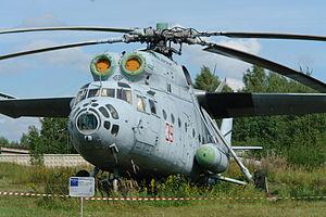 ソ連空軍で運用されたMi-6VzPU