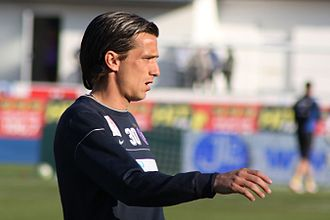 Serbs in Slovenia - Image: Milenko Acimovic FK Austria Wien