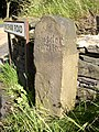 Milestone, Thick Hollins Road, Meltham - geograph.org.uk - 529343.jpg