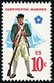 Military Uniforms Continental Marines 10c 1975 issue U.S. stamp.jpg