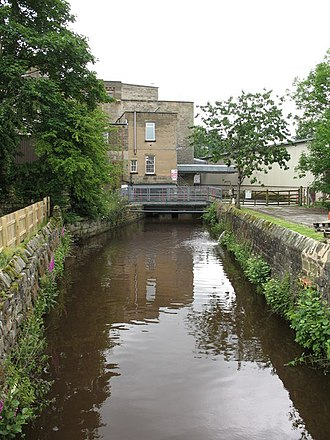 Mill race - Image: Mill race, Birstwith